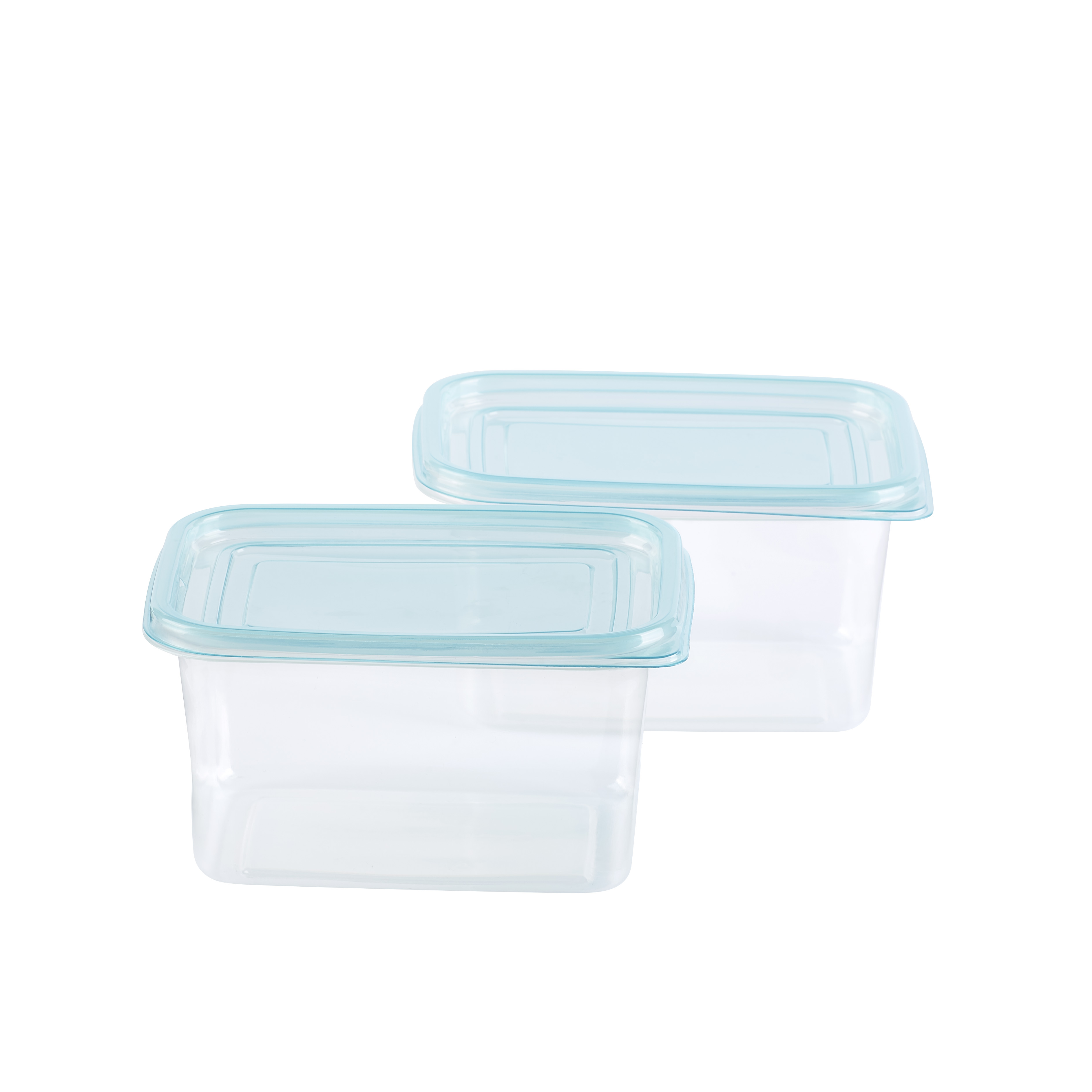 Mainstays Rectangular 5-Cup Food Storage Container, 2 Pack