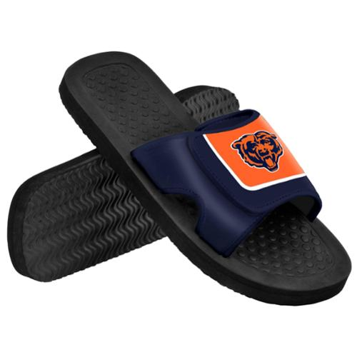 Chicago Bears NFL Men's Shower Slide Flip Flops Small