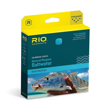 Rio General Purpose Saltwater Floating Fly Fishing Line - Coldwater Series