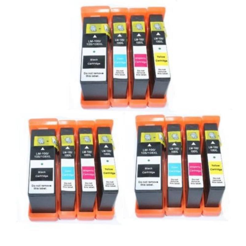12 PK Combo Pack Black Cyan Magenta Yellow High quality I...