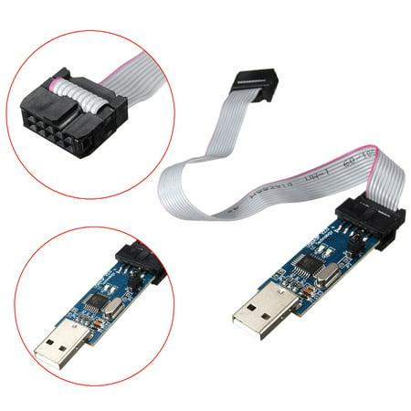 USB ISP Programmer Downloader For 51/ Mini USB Programmierer Downloader ATMega /ATTiny/ AVR Download (Best Downloader For Windows 7)