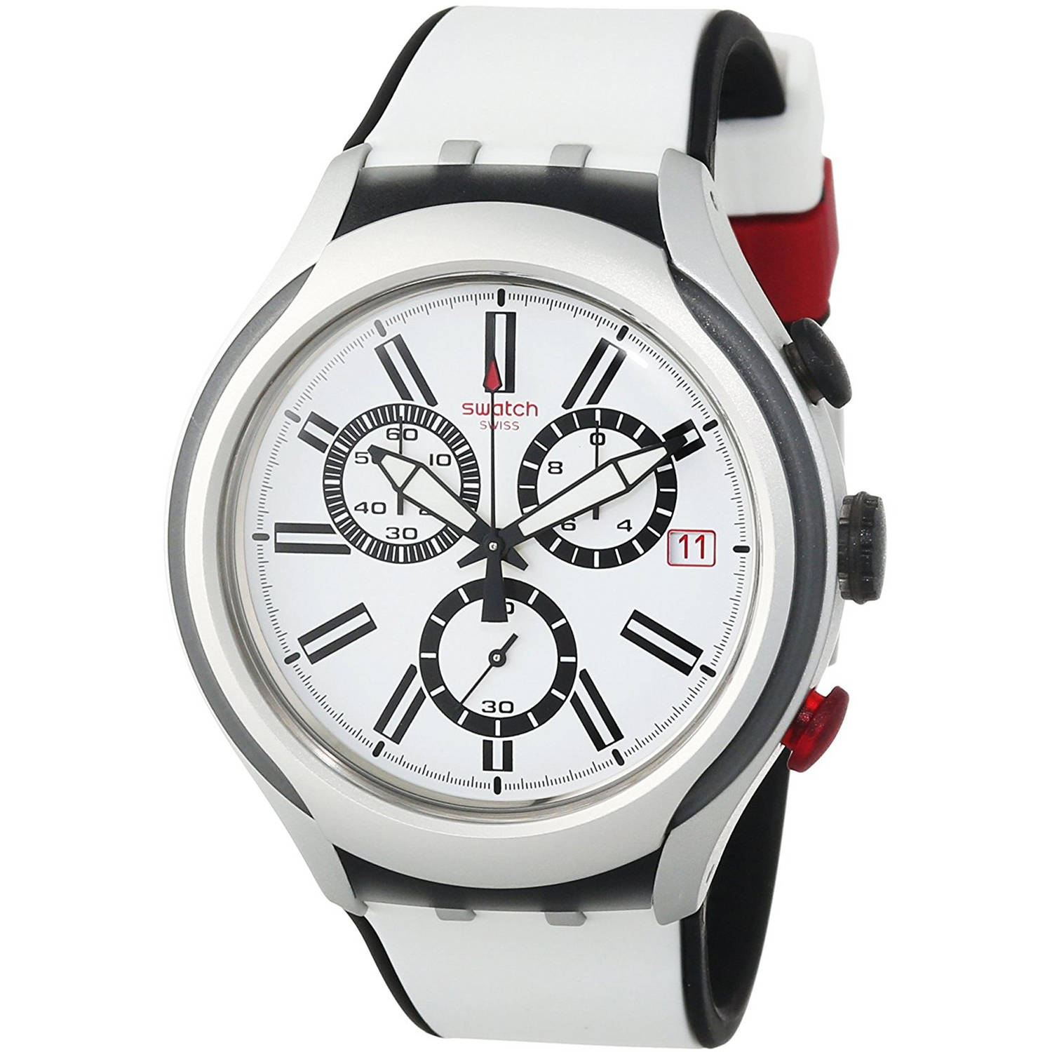 Swatch Black Wheel Mens Watch YYS4005 by Swatch
