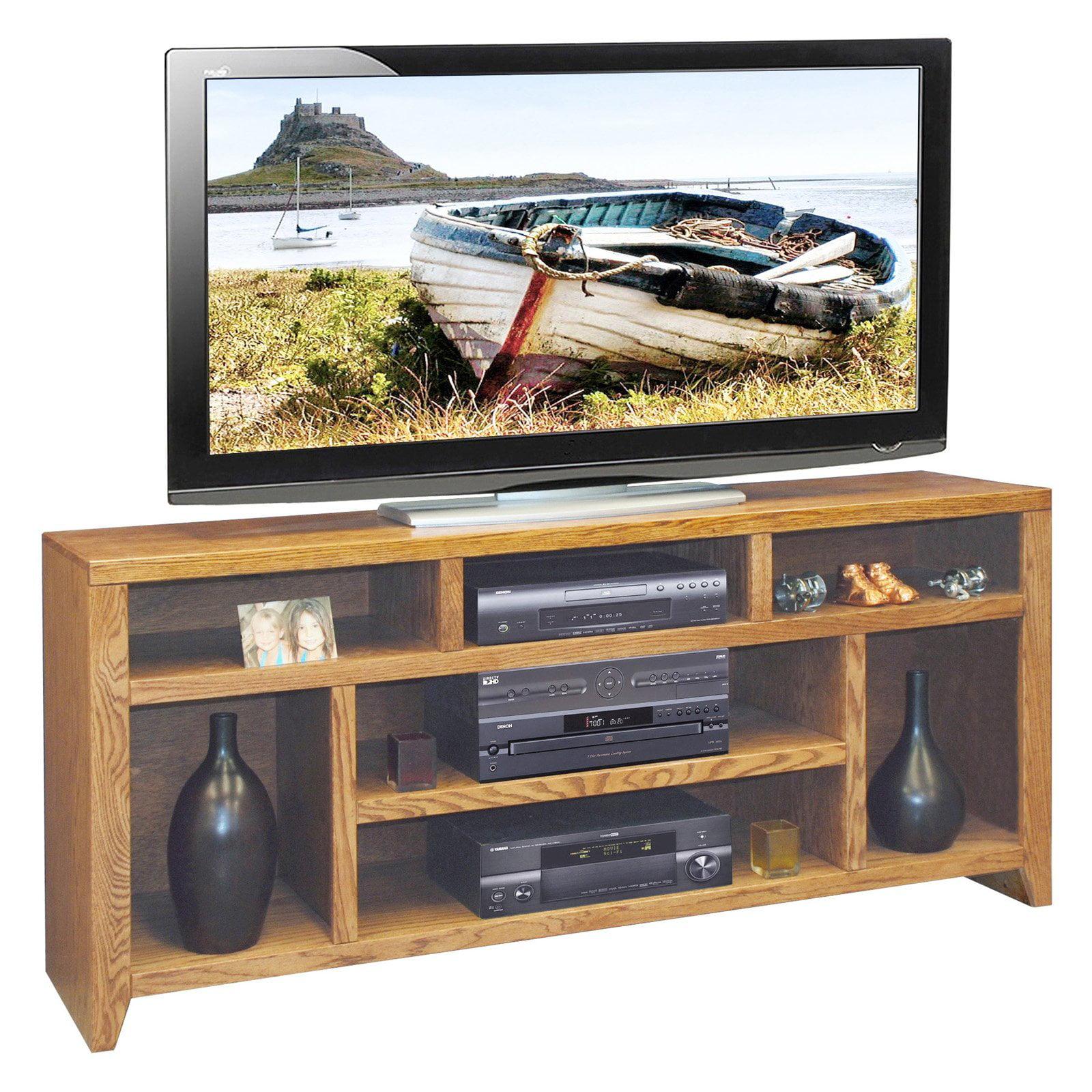 Legends City Loft 66 in. TV Console - Golden Oak