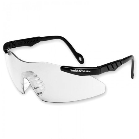 S&W Magnum 3G Safety Glasses Blk Frame Ff/Clear