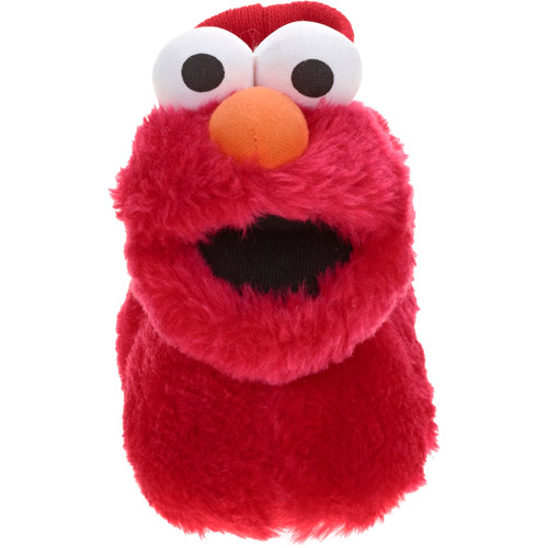 Sesame Street Boy's Toddler Sock Top  Slipper