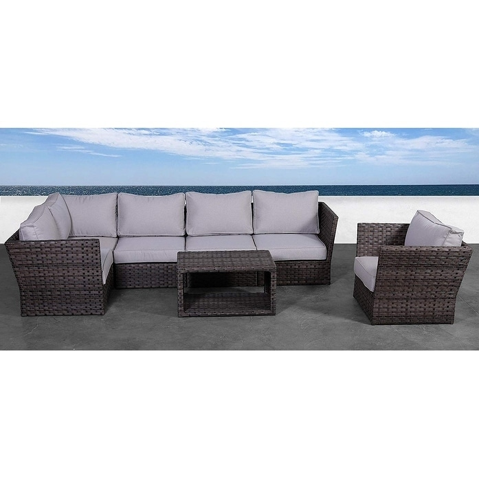 Living Source International Patio Sofa Set
