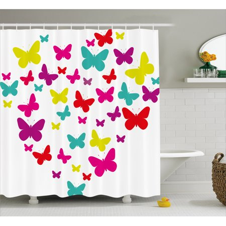 f817f134d4f7 Butterfly Shower Curtain