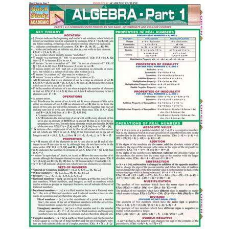 Algebra Part 1 Guide - Algebra Tiles Classroom Set