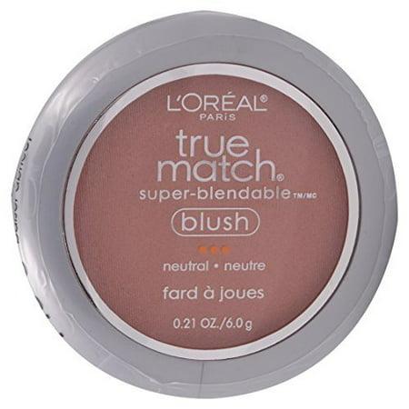 Loreal Paris True Match Super Blendable Apricot Kiss Neutral Blush -- 2 per (Apricot Kiss)