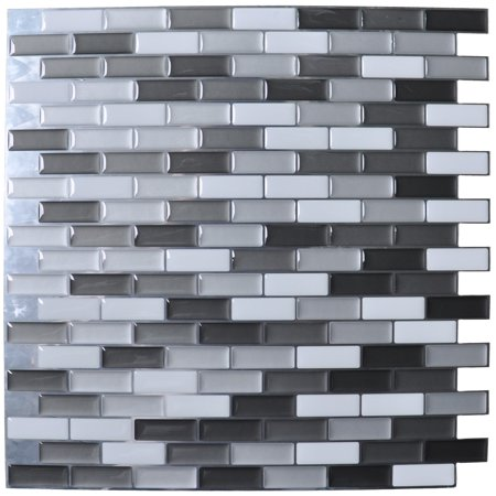 Peel and Stick Wall Tile for Kitchen Backsplash, 12