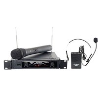 Pyle-Pro PDWM2700 Two Channels VHF Wireless Microphone