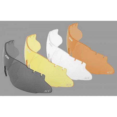 ESS Eyewear 740-0011 Smoke Gray Eye Safety System Ice EyeShield Lens