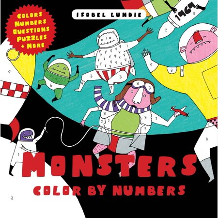 Monsters Color by Numbers (Number Monsters)