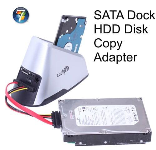 Coolgear 1:1 HDD COPY Adapter Dock MINI HARD DISK DRIVE DUPLICATOR & DOCK