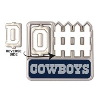 Dallas Cowboys Official NFL 1 inch  Fence Lapel Pin by Wincraft