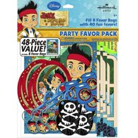 Party Favors - Jake and the Neverland Pirates - Value Pack - 48pc Set