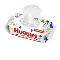 Huggies Simply Clean Unscented Baby Wipes, 1 Flip-Top Pack (64 Wipes Total)