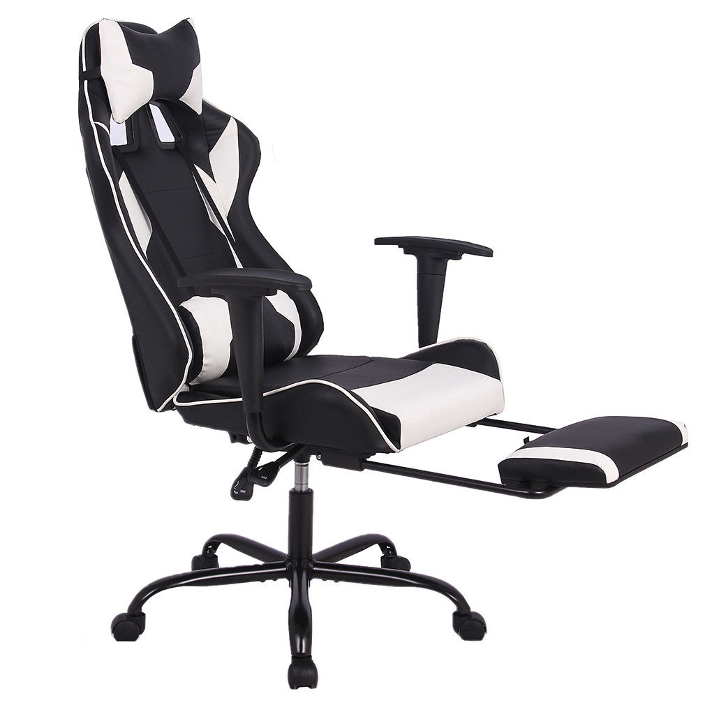 Gaming Chair Racing Style High Back Office Chair Ergonomic Swivel Chair