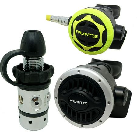 - Scuba Diving Dive Palantic AS101 DIN Regulator & Octopus Combo