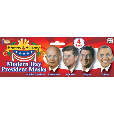 Morris Costumes Adult Unisex Modern Day President On Stick Masks, Style FM74630](Presidents Mask)
