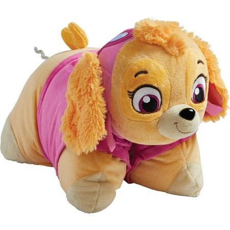 Pillow Pets Nickelodeon Paw Patrol Skye Plush Chenille Throw Pillow](Paw Patrol Puppy Names)