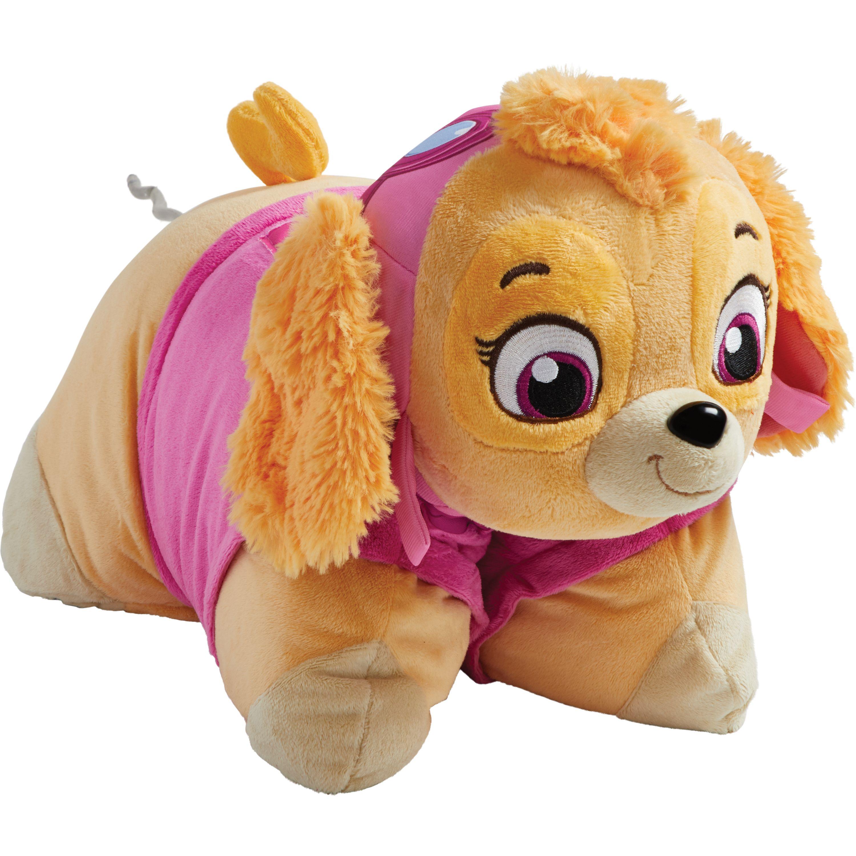 Pillow Pets Nickelodeon Paw Patrol Skye Plush Chenille Throw Pillow