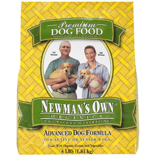 Newman's Own: For Active Or Senior Dogs The Second Generation, 4 lb