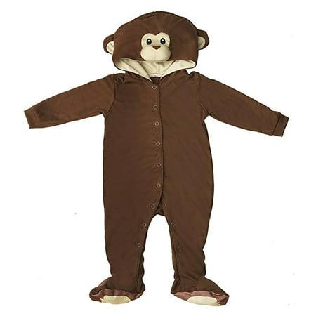 Ganz Brown Monkey Baby Polyester Knit Halloween Costume, Size - Monkey Halloween Costume Toddler