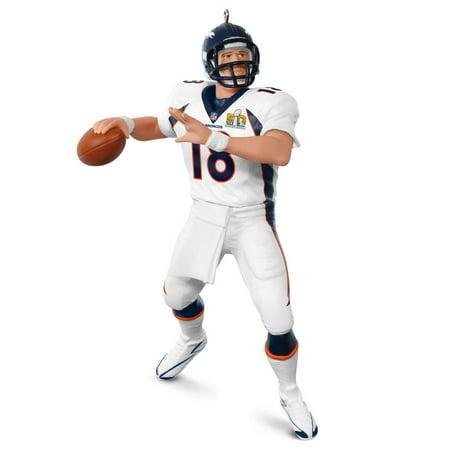Hallmark Ornament 2016 Football Legends, Peyton Manning - Super Bowl 50 Champion - College Football Ornaments