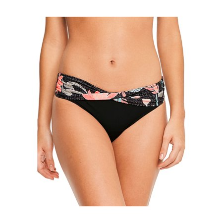 Seafolly Womens Bali Hai Twist Band Hipster Wide Band Hipster