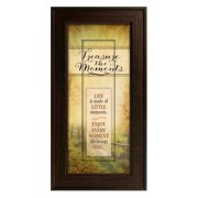 The James Lawrence Company 'Treasure the Moments' Framed Graphic Art