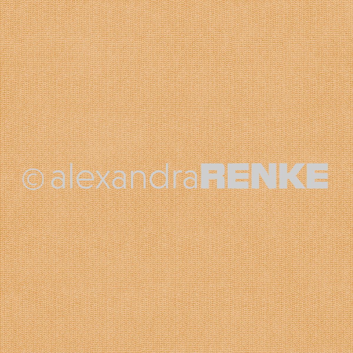 """Alexandra Renke Basic Design Paper 12""""X12""""-Orange Knitted"""