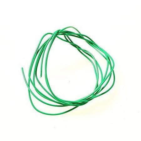 20' Garden Water Plants Tie Wire Line 20 feet - Green Twists Secure Moss String By Aquarium