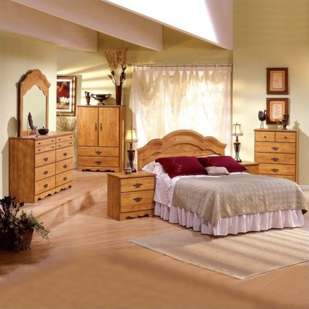 South shore prairie headboard 2 piece set - South shore 4 piece bedroom furniture set ...