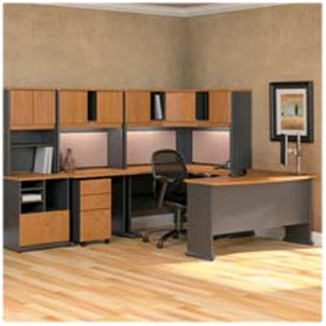 Bush Industries BSHWC57452SU 2-Drawer Ped. - File-File- 15-. 63inchx20-. 38inchx28-. 25inch- CY-SLT