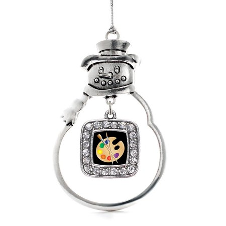 The Artist Classic Snowman Holiday Ornament