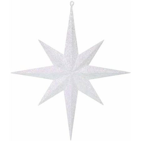 "Vickerman 15.75"" Glitter Bethlehem Star Christmas Ornament"