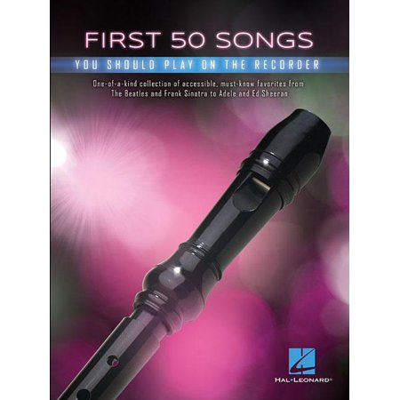 First 50 Songs You Should Play on Recorder (Paperback) - Halloween Theme Song On Recorder