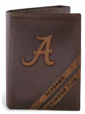 Alabama Trifold Distressed Leather Wallet