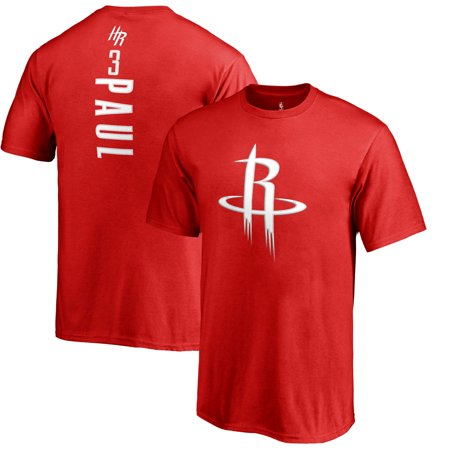 Chris Paul Houston Rockets Fanatics Branded Youth Backer Name & Number T-Shirt - - Chris Paul Hornets