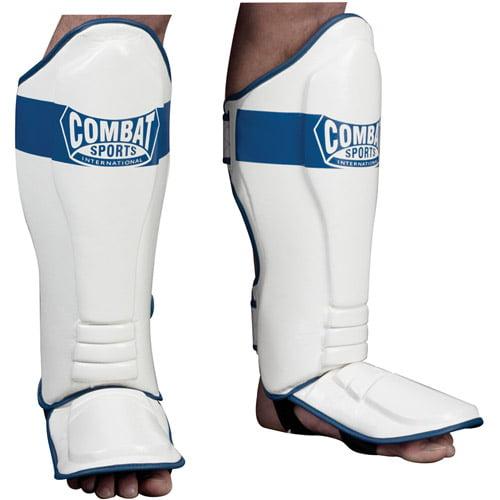Armory MMA Shin Instep Guard Muay Thai Leg Protector Kickboxing Boxing Foot Pads