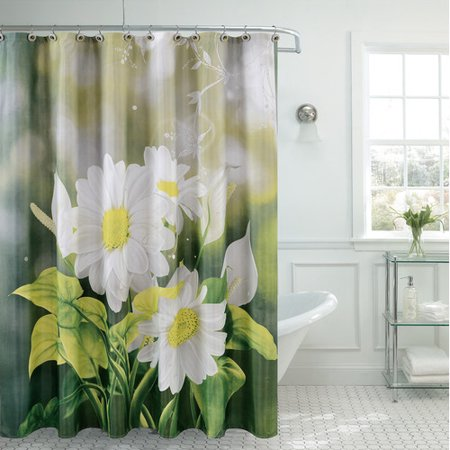 Daniels Bath Fancy Daisy Single Shower Curtain
