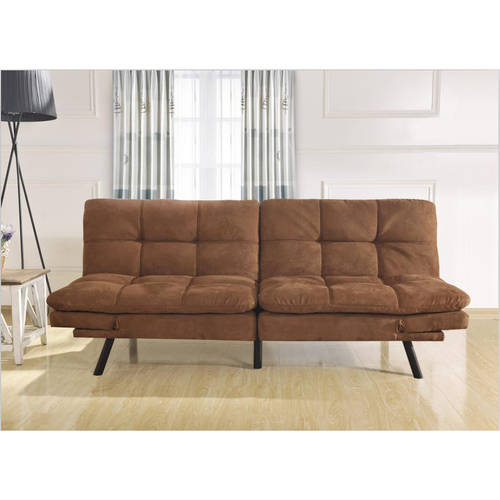 Mainstays Memory Foam Futon, Multiple Colors by NISCO CO., LTD