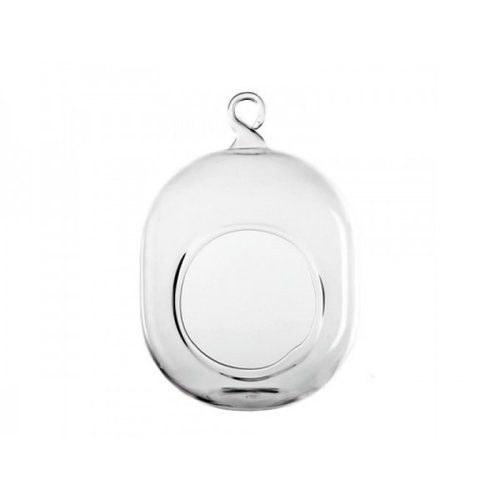 CYS-Excel Oval Hanging Round Terrarium (Set of 24)