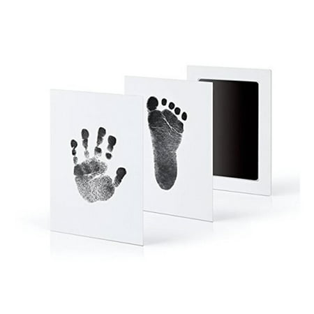 Baby Care Non-Toxic Baby Handprint Footprint Imprint Kit Infant Souvenirs Casting Clay To Newborn Footprint Ink Pad Infant - Halloween Handprint Footprint Crafts