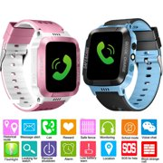 Smart Watch for Kids - Kid GPS Tracker with Phone Smartwatch for Boys Girls 3-12 Years Old with Two-Way Call SOS Anti-Lost Games Camera, Child Cellphone Watch School Class Gifts