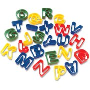 Creativity Street, CKC9771, Dough Cutter Letters, 26 / Set, Assorted