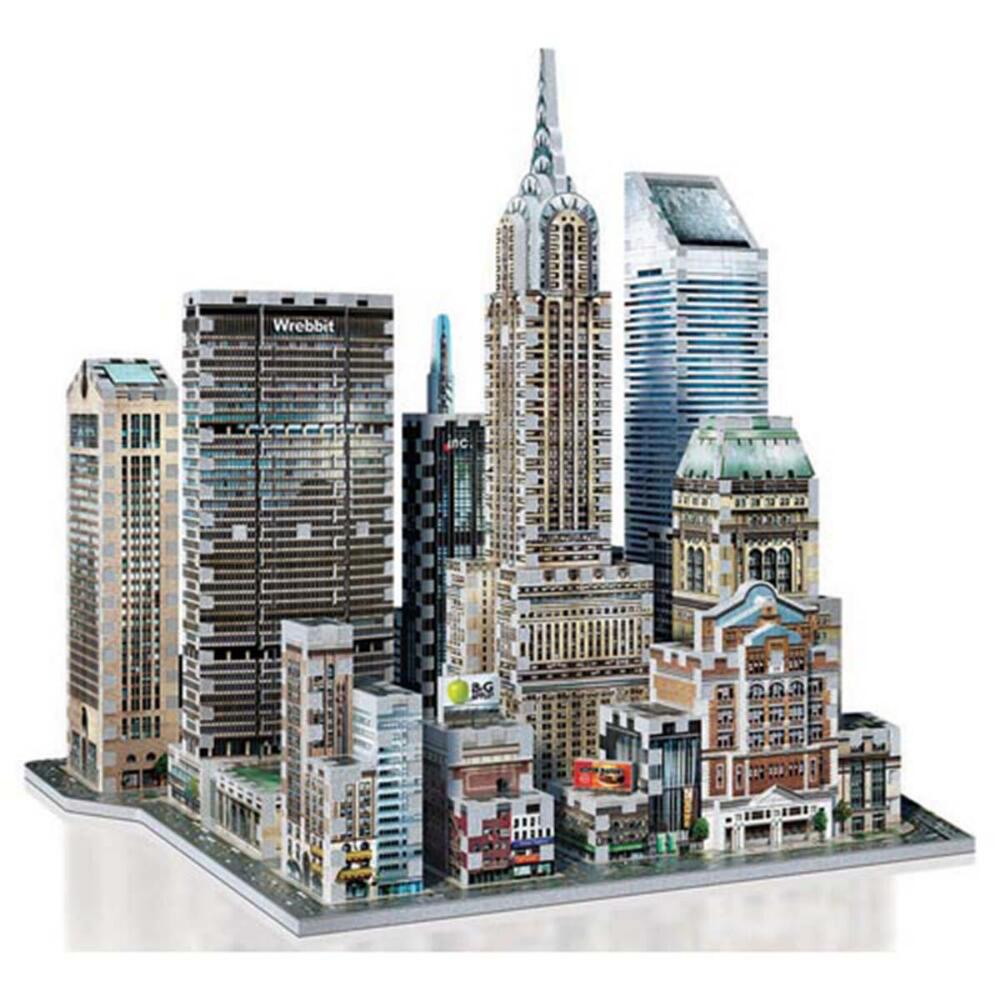 Wrebbit 3D 2010 Midtown East New York 3D Puzzle by Wrebbit 3D