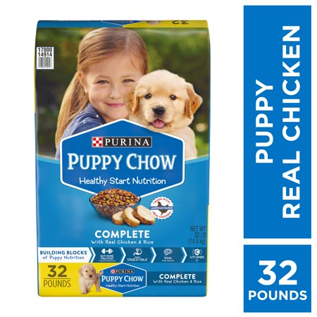 Purina Puppy Chow Complete With Real Chicken Dry Puppy Food - 32 lb.