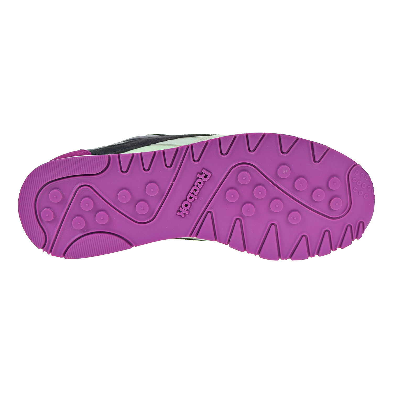 e58ab6e3348 Reebok - Reebok Classic CL Nylon CB Women s Shoes Sage Coal Fuchsia White  bd1276 - Walmart.com